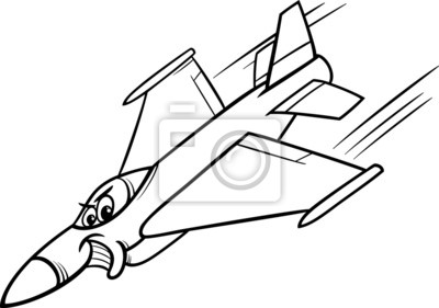 Papiers Peints Chasseur à Réaction Coloriage Avion