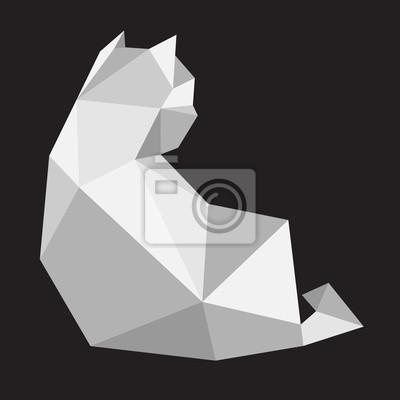 Dessin Geometrique Chat Altcoin Exchange