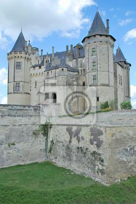 Papiers peints Château des Ducs d'Anjou à Saumur