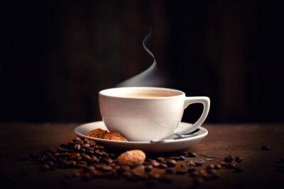 Papiers peints chaud, du café frais