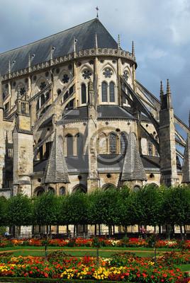 Papiers peints Chevet de la Cathédrale de Bourges, France