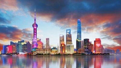 Papiers peints China - Shangahi skyline