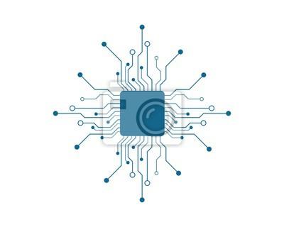 Papiers peints circuit technology vector