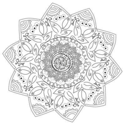 Papiers peints Circulaire résumé modèle de différents éléments.