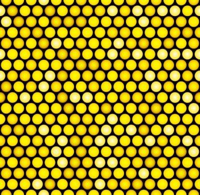 Papiers peints Classic Gold Dotted Seamless Glitter Pattern. Vecteur