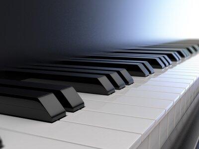 Papiers peints Clavier de piano