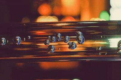 Papiers peints Close Up Of Transparent Tube With Bubbles