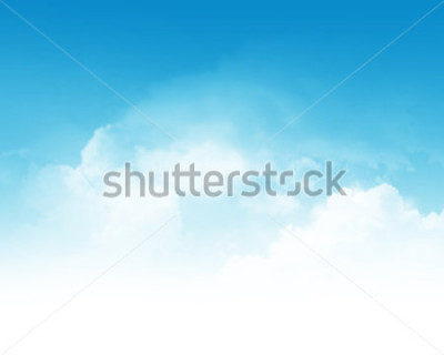 Papiers peints Cloudy blue sky abstract background