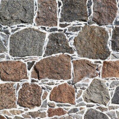 Papiers peints Cobblestone fragment de mur texture