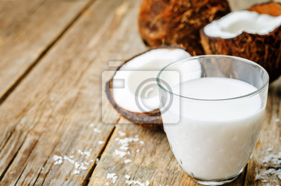 coconut milk and coconuts