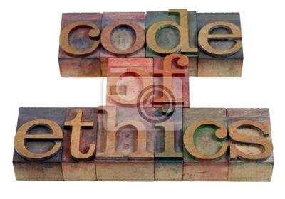 Papiers peints code d'éthique