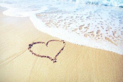 Papiers peints Coeur de sable
