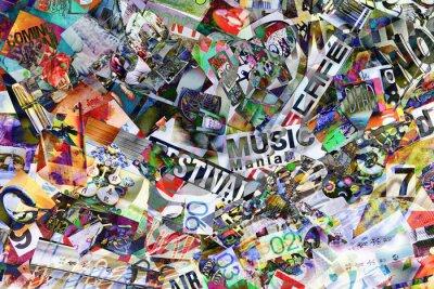 Papiers peints collage