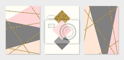 Collection de cartes de conception abstraite