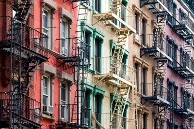 Papiers peints Coloré, appartement, bâtiments, nouveau, York, ville