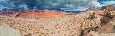Papiers peints Coloré, rocher, Formations, Quebrada, Cafayate, Argentine