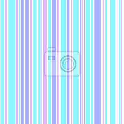 Colore Vertical Rayures Pastel Rose Bleu Blanc Pourpre
