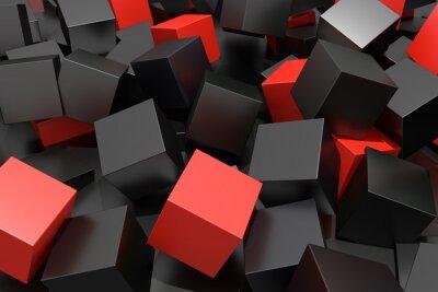 Papiers peints colored cubes