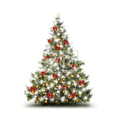 Colorful arbre de Noël décoré