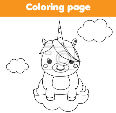 Coloriage Licorne Jeux.Papiers Peints Coloriage Licorne Jeu Educatif Pour Enfants Activite Imprimable