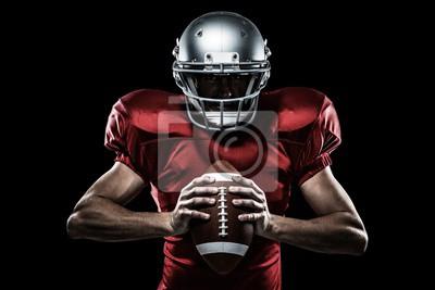 Papiers peints Composite, image, Américain, football, joueur, tenue, balle
