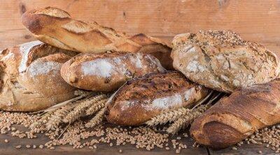 Papiers peints Composition de divers pains