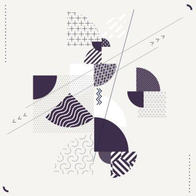 Papiers peints Composition géométrique abstraite