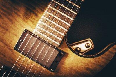 Papiers peints Concept de guitare électrique