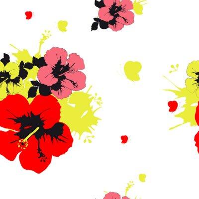 Papiers peints Conception de fleurs