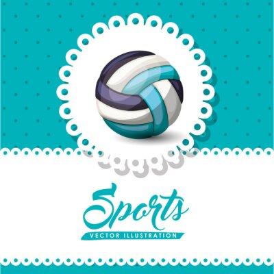 Papiers peints Conception de ligue de volleyball