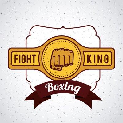 Papiers peints Conception de sport de boxe