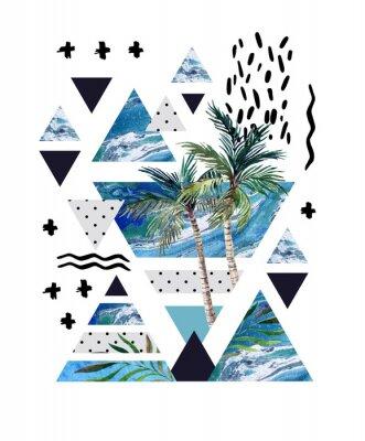 Papiers peints Conception géométrique d'affiches géométriques abstraites.