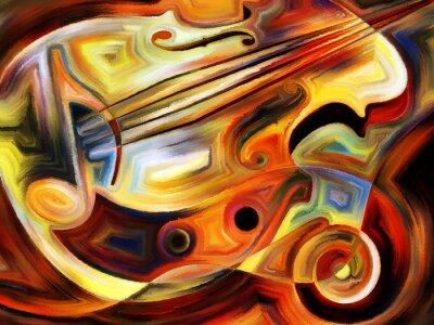 Papiers peints Conceptual Music