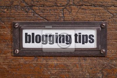 Papiers peints conseils blogging étiquette