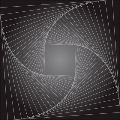 Papiers peints Contexte géométrique abstraite abstraite. Concept Infini