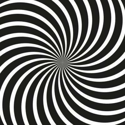 Papiers peints Contexte Op Art Swirl Spiral
