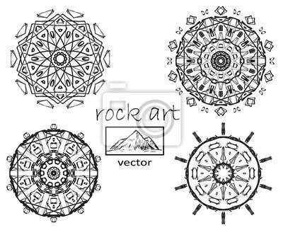 Coloriage Mandala Rond.Contour Mandala Pour Coloriage Ornement Rond Decoratif Therapie