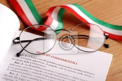 costituzione italiana - en raison