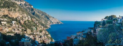 Papiers peints Côte d'Amalfi entre Naples et Salerne. Italie