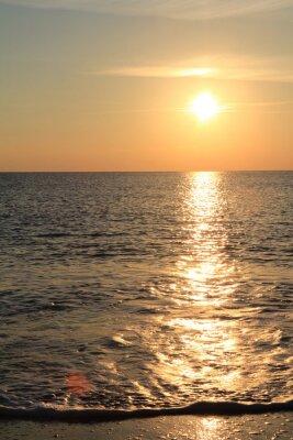 Papiers peints Coucher de soleil sur la mer