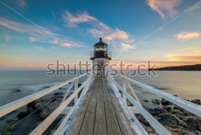 Papiers peints Coucher de soleil sur le phare de Marshall Point