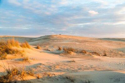 Papiers peints Coucher de soleil sur les dunes majestueuses au parc d'État Jockey's Ridge