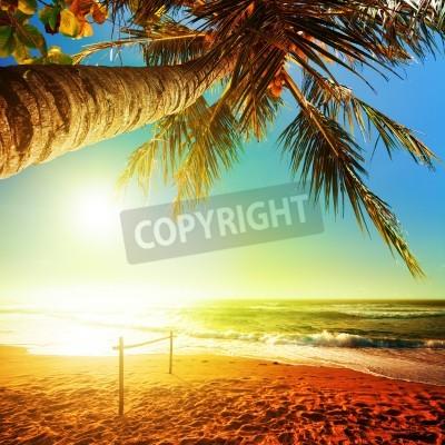 Papiers peints Coucher du soleil après la composition Place de la tempête