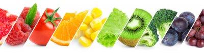 Papiers peints Couleur des fruits, des baies et des légumes