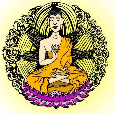 Papiers peints Couleur du Bouddha.
