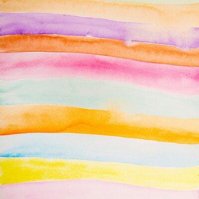 Papiers peints Couleurs colorées eau couleur