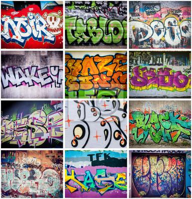 Papiers peints Couleurs Graffiti