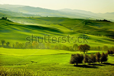 Papiers peints Countryside, San Quirico d`Orcia , Tuscany, Italy