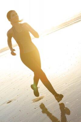 Papiers peints Courir à la plage