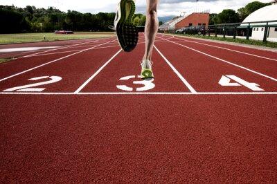 Papiers peints Courir, athlétique, piste